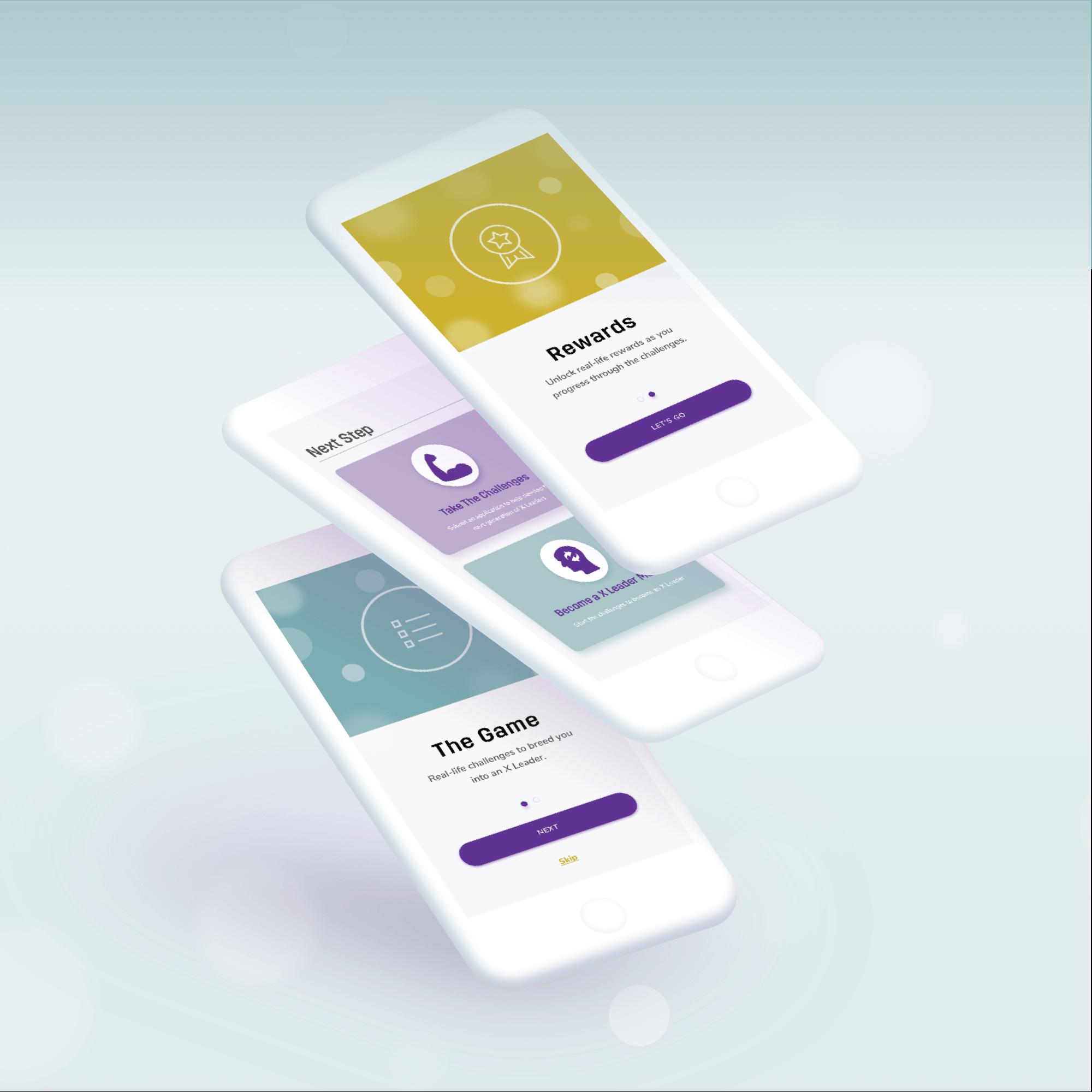 X Leader Website & Mobile Apps